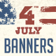July 4th Banners Nulled