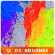 Watercolor Splatter Paint Photoshop Brushes #2 - GraphicRiver Item for Sale