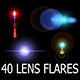 40 Lens Flares Full Pack Vol.1 - GraphicRiver Item for Sale