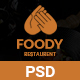 Foody - Restaurant PSD Template - ThemeForest Item for Sale