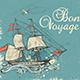 Vintage Sailing Ship - GraphicRiver Item for Sale