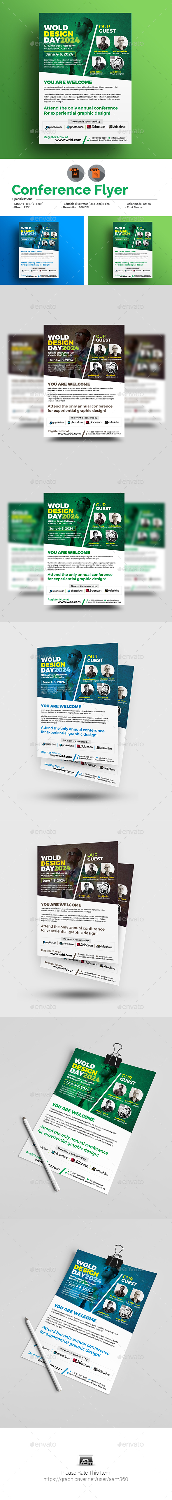 Conference Flyer - Corporate Flyers