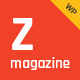 Zmagazine - Blog, News & Magazine Theme Nulled