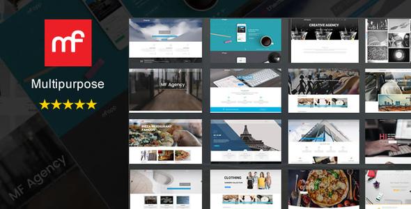 MF - Premium WordPress Theme - Business Corporate