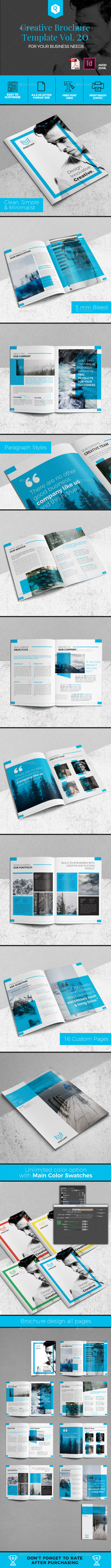 Creative Brochure Template Vol. 20 - Corporate Brochures