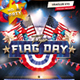 Flag Day 4th of July Flyer - GraphicRiver Item for Sale
