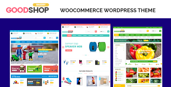 Good Shop Multipurpose Responsive WooCommerce WordPress Theme