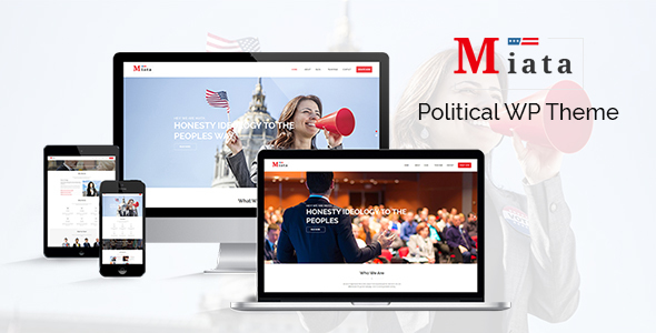 Miata – Political WordPress Theme - Political Nonprofit