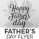 Father's Day Flyer Nulled