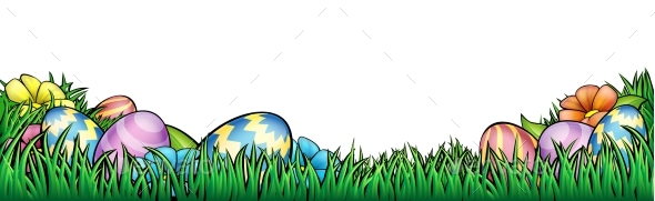 Easter Eggs Background - Miscellaneous Seasons/Holidays
