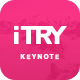 iTry Keynote Template - GraphicRiver Item for Sale