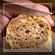 Man Cuts Bread - VideoHive Item for Sale
