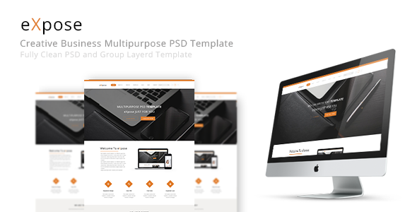 eXpose Multipurpose PSD Template