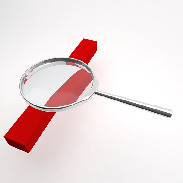 Magnifier - 3DOcean Item for Sale