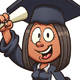 Graduate Girl - GraphicRiver Item for Sale