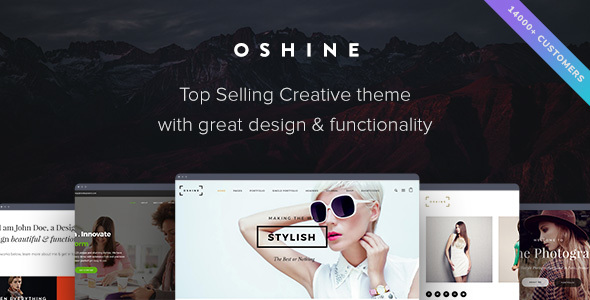 Oshine - Creative Multi-Purpose WordPress Theme - Portfolio Creative