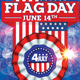 Flag Day Flyer - GraphicRiver Item for Sale