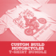 Custom Build Motorcycles T-Shirt Bundle - GraphicRiver Item for Sale