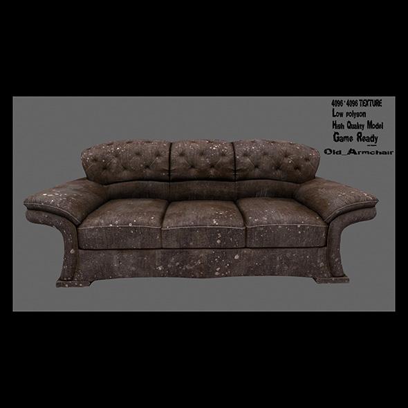 Armchair_4 - 3DOcean Item for Sale