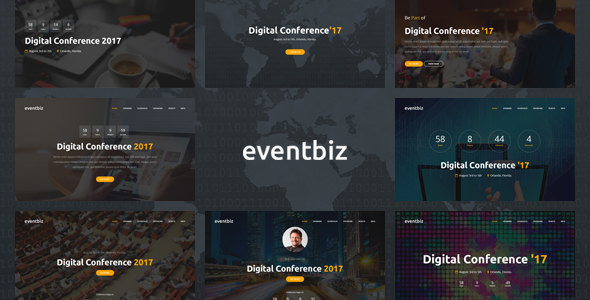 Eventbiz – Event and Conference Website Template