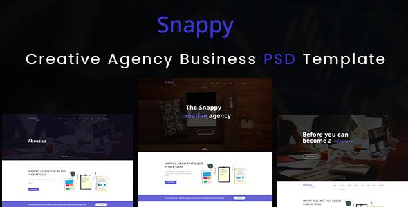 Creative Agency Business PSD Templates - Creative PSD Templates