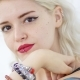 Portrait of a Sexy Hipster Young Blond Woman - VideoHive Item for Sale