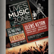 Live Music Flyer / Poster - GraphicRiver Item for Sale