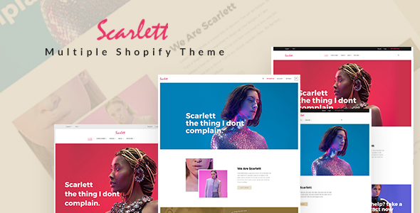 Image of Ap Scarlett Shopify Theme