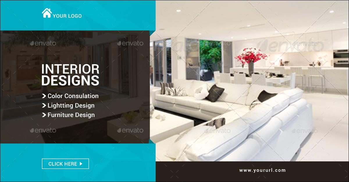 Interior Design Banners By Hyov Graphicriver