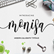 Monisa Script - GraphicRiver Item for Sale