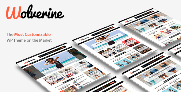 Wolverine – Responsive WordPress Magazine and Blog Theme