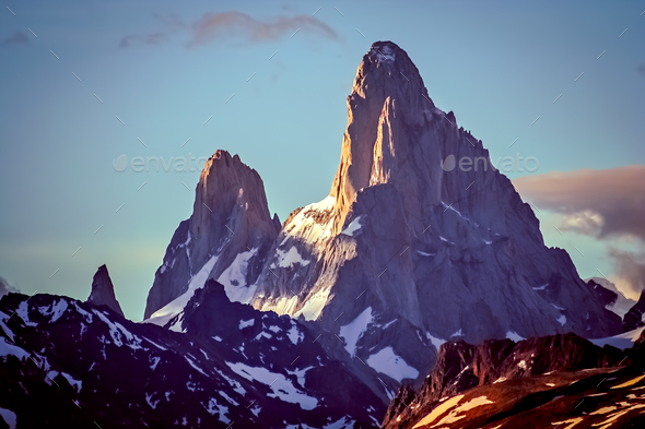 Mount Fitz Roy - Stock Photo - Images