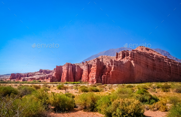 Giants of Quebrada de Cafayate - Stock Photo - Images