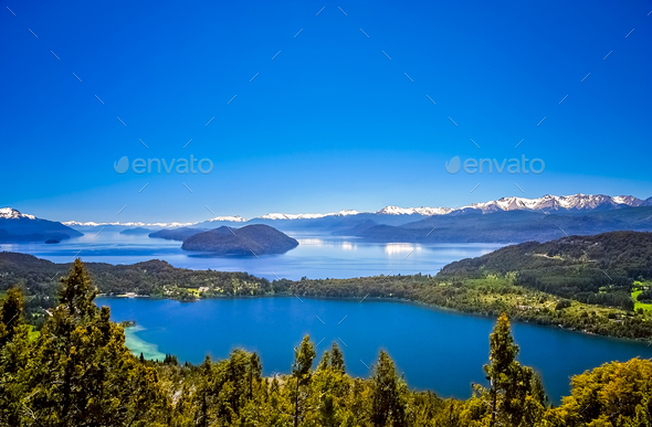 Argentinian Lake District - Stock Photo - Images
