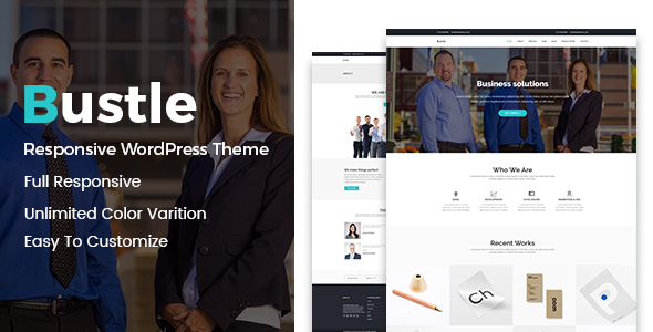 Bustle - Corporate WordPress Theme