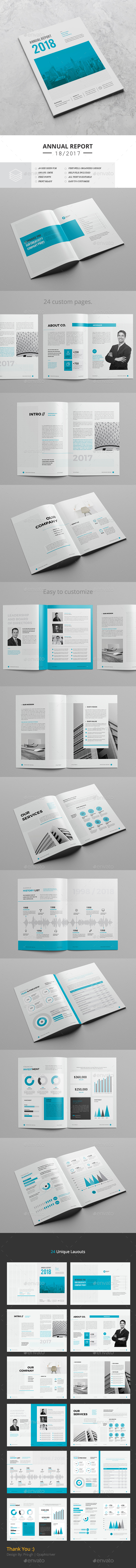 Annual Report 24 Pages - Corporate Brochures
