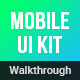 Walkthroughs - Mobile Template UI kit - GraphicRiver Item for Sale