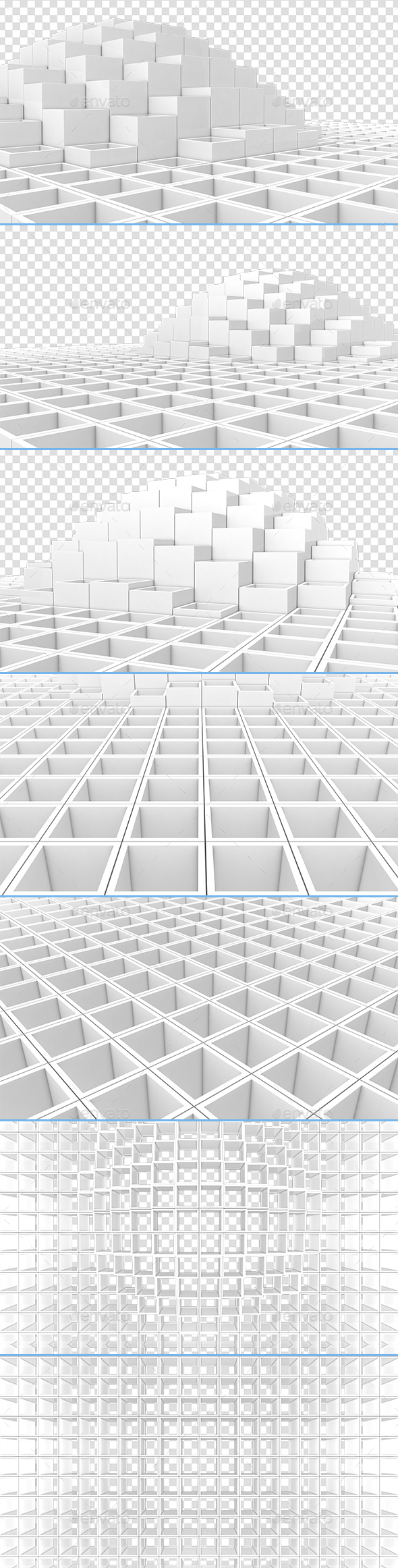 3D Square Background - 3D Backgrounds