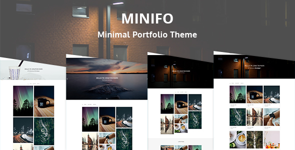Minifo – Minimal Portfolio WordPress Theme