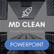 MD Clean Multipurpose PowerPoint Template - GraphicRiver Item for Sale