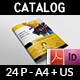 Hand Tools Products Catalog Brochure Template - 24 Pages - GraphicRiver Item for Sale
