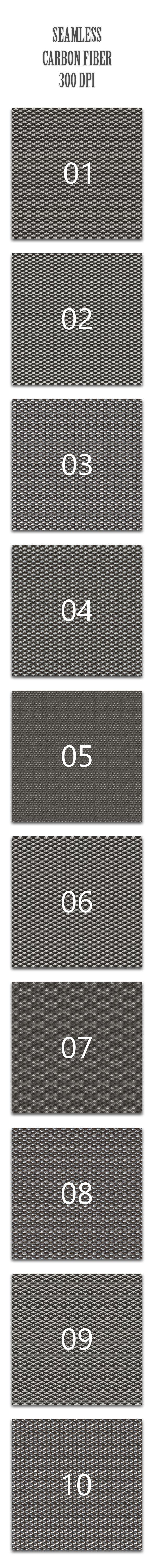 Seamless Carbon Fiber - Textures / Fills / Patterns Photoshop