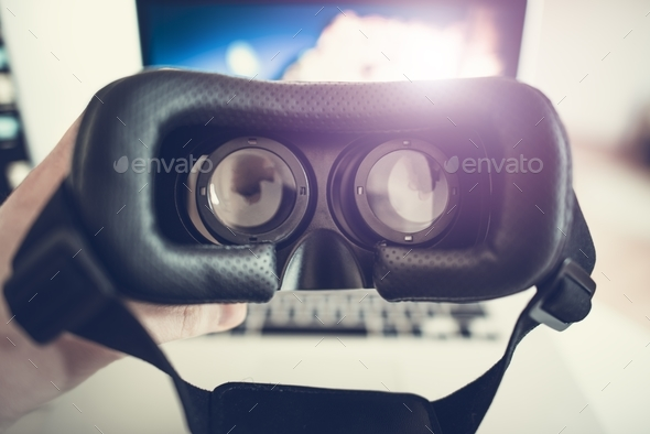 Virtual Reality 3D Goggles - Stock Photo - Images