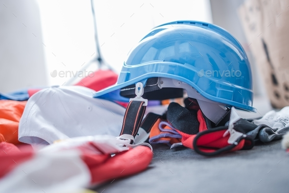 Construction Protection Gear - Stock Photo - Images