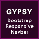 GYPSY - Bootstrap Responsive Navbar - CodeCanyon Item for Sale
