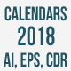 Calendar 2018 Year - GraphicRiver Item for Sale