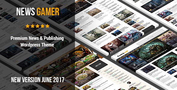 News Gamer - Premium WordPress News / Publishing Theme