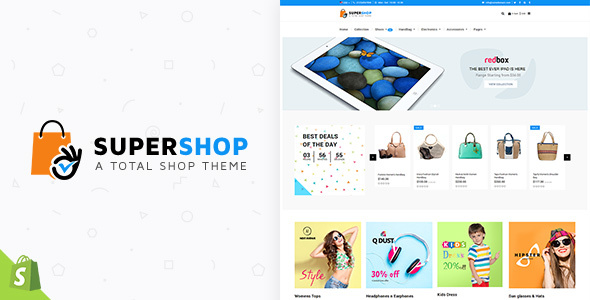 Super Shop | Multipurpose, Multi Store Shopify Theme