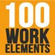 100 Work Elements - VideoHive Item for Sale