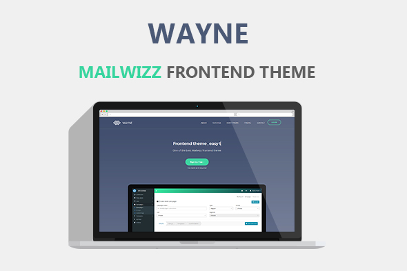 Wayne Mailwizz Frontend Theme - CodeCanyon Item for Sale